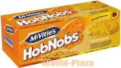 「ホブノブ」とは「だんらん」という意味です。マクビティーズ ホブノブビスケット