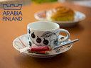 アラビア/arabia/北欧/復刻版/ブラックパラティッシ/イッタラ【北欧特集/マグ・カップ】**【期...